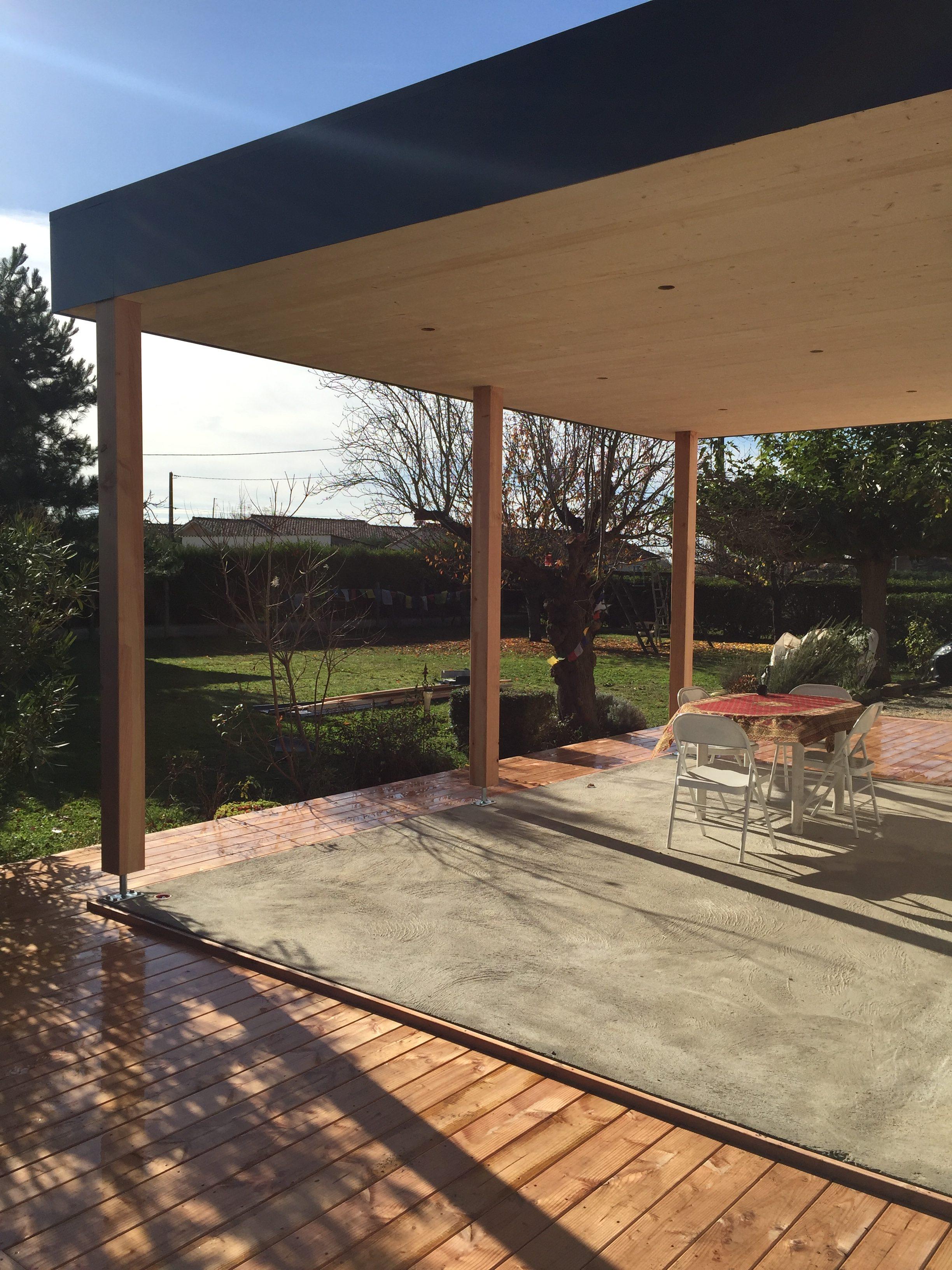 La Terrasse couverte – DIMENSION BOIS